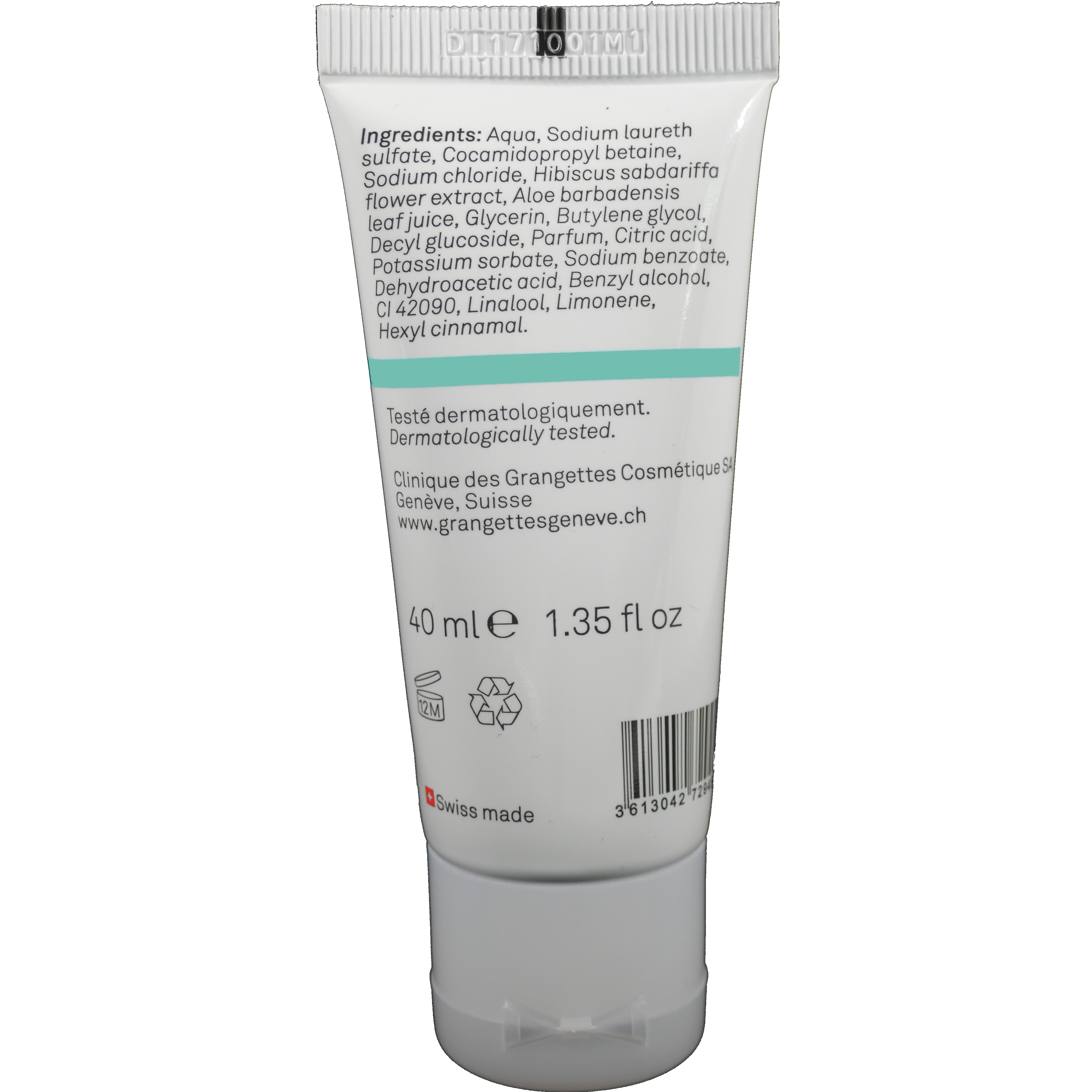 Gel moussant corps 40ml